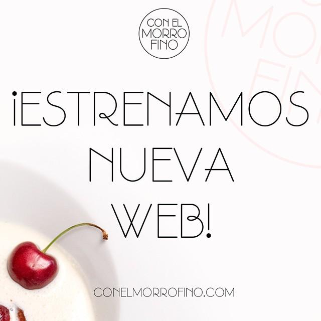 Hoy estamos felices, TENEMOS NUEVA WEB. Nuevo diseño, contenidos, artículos y colaboradores... Échale un ojo que te va a molar #felizlunes