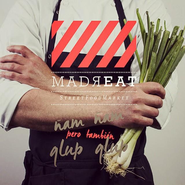 Este finde (18-19) MadrEAT, primer #streetfood #market de #Madrid. Con @liseleticookies @goikogrill, Cervezas LaVirgen, SanWich... entre otros. Más info aquí: http://conelmorrofino.com/street-food/