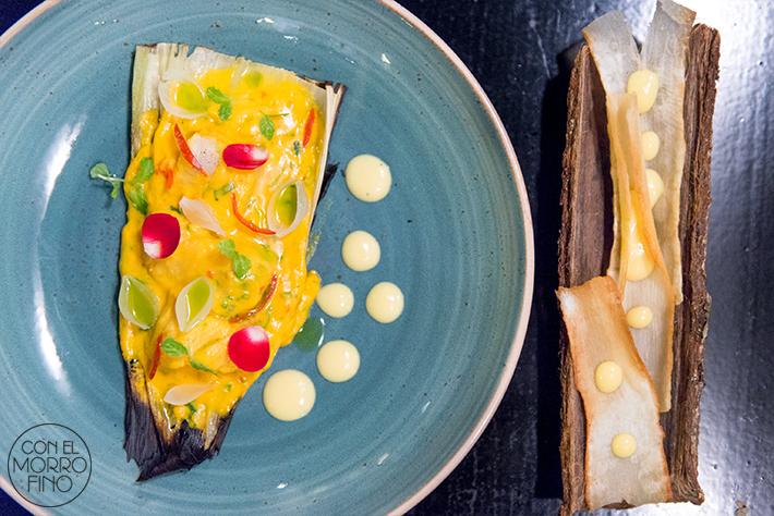 Tiradito ceviche frito peruano yuca