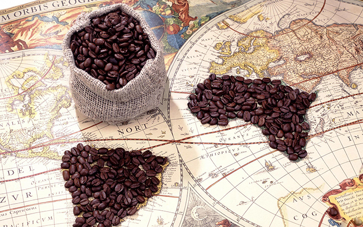 History of coffee vía kirtsdailyroast.com