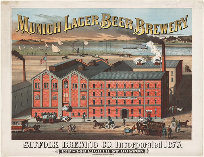 Fabrica de cerveza lager de Munich
