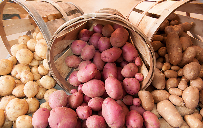 United Soybean Board Potatoes vía Flickr