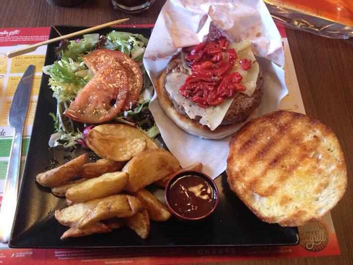 Aita burger Goiko Grill