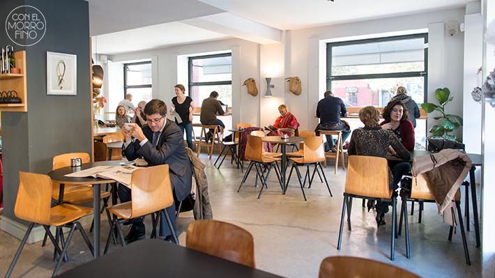 Federal cafe local comedor ambiente