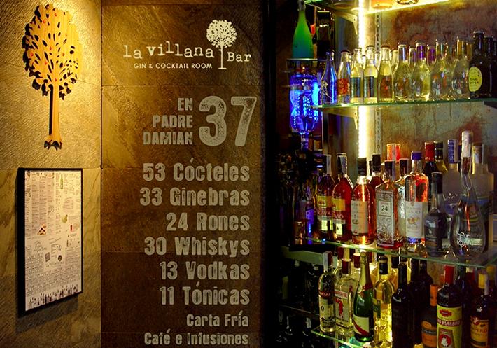 La villana cocktail bar coctel cocteleria padre damian