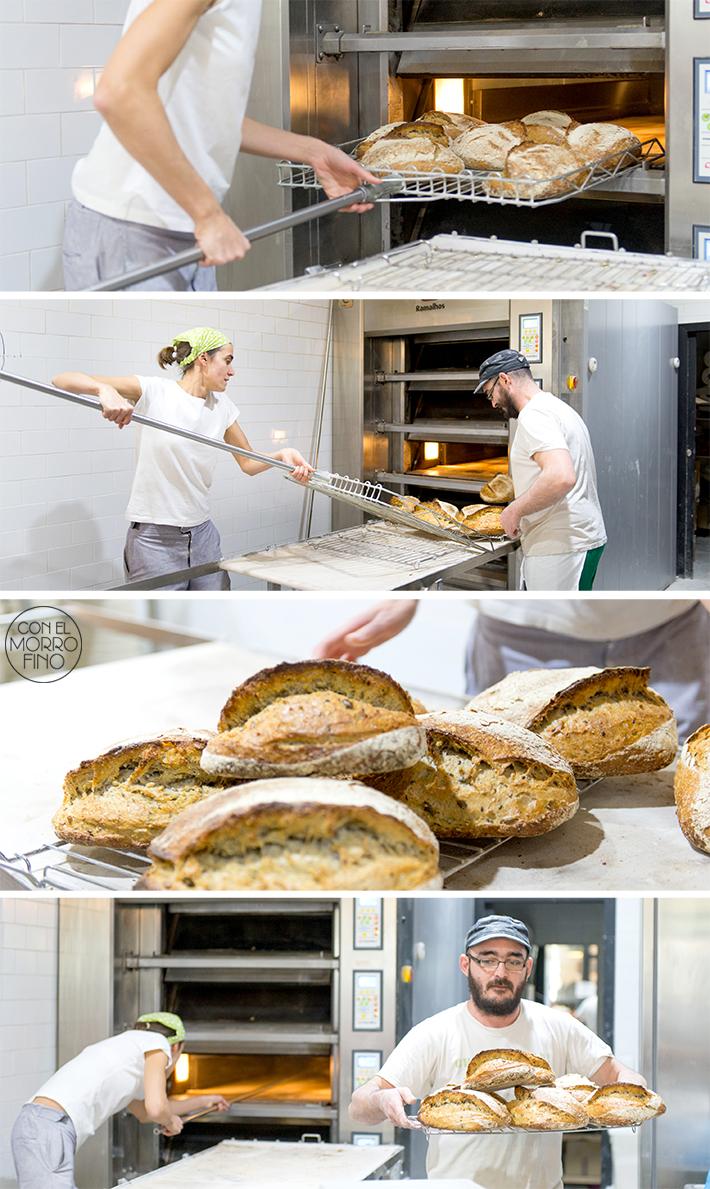 Panic Conde duque pan horneando