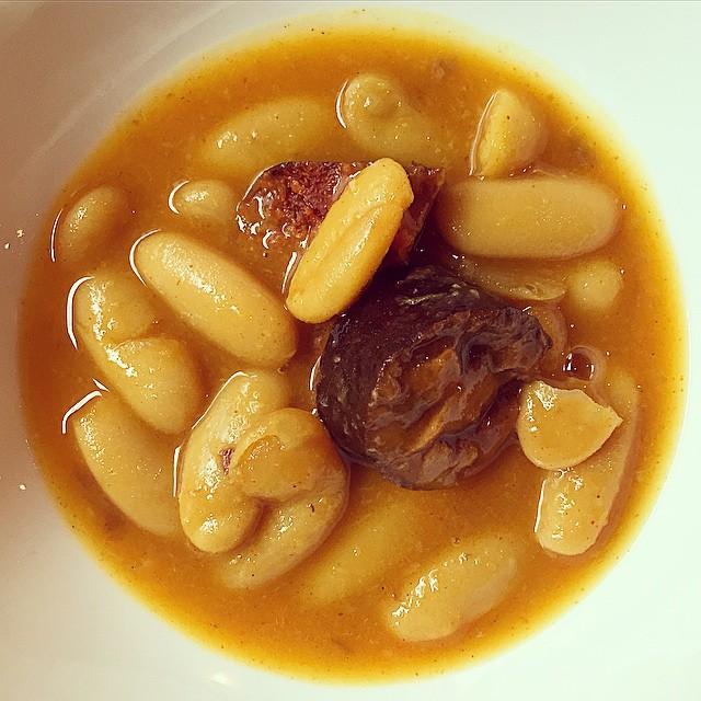 Cocina asturiana, de la de verdad, en El Horreo Asturiano para el #Asturias #Gastrofestival2015 #Madrid #ElHorreoAsturiano #conelmorrofino #foodie #foodpic #fabada