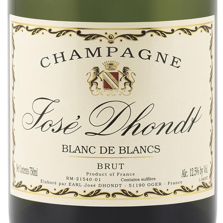 Jose-Dhondt-Blanc-De-Blancs-Brut-Champagne-Label