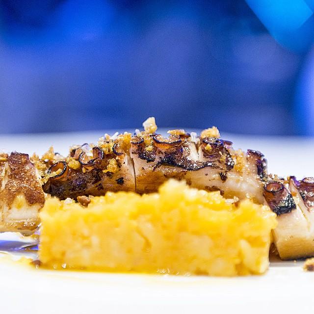 Este es el #pulpo de ayer, pero más en detalle. La semana que viene os lo presento! #madrid #foodie #conelmorrofino