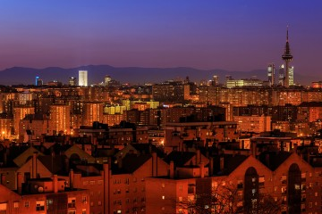 Barcex - Madrid skyline (vía flickr)