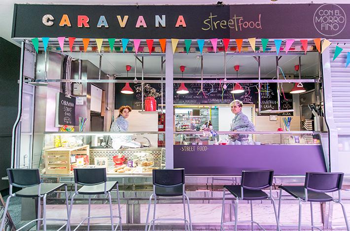Paula y Aída Caravana Street Food Mercado Antón Martín