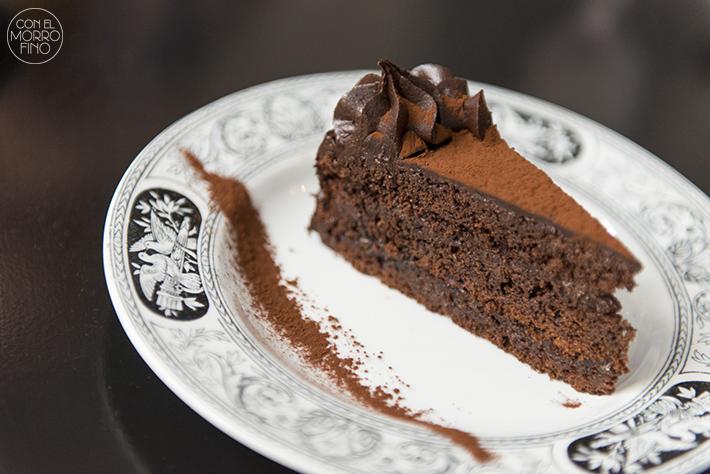 GANZ tarta chocolate naranja casera
