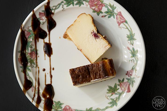 GANZ tarta queso frambuesa casera