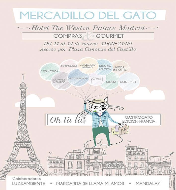 CARTEL MERCADILLO DEL GATO A4