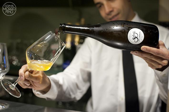 Charlie Champagne Cerveza achampanada Salvaje