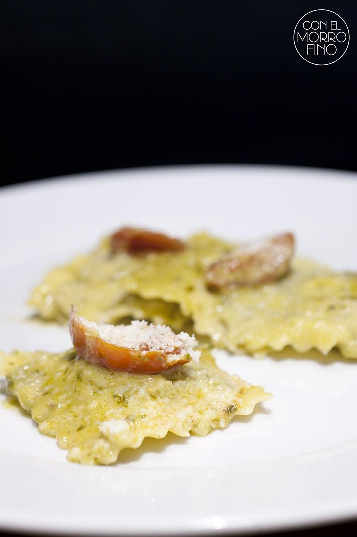 Cocin.ita chef matteo Ravioli con pesto