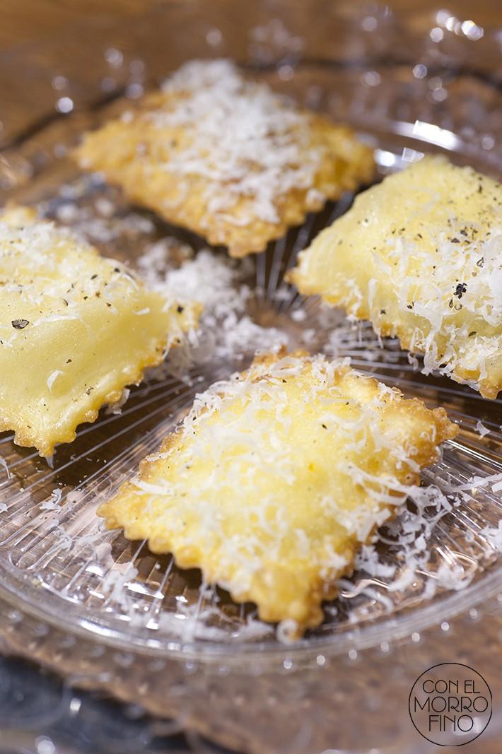 Cocin.ita chef matteo ravioli frito de queso