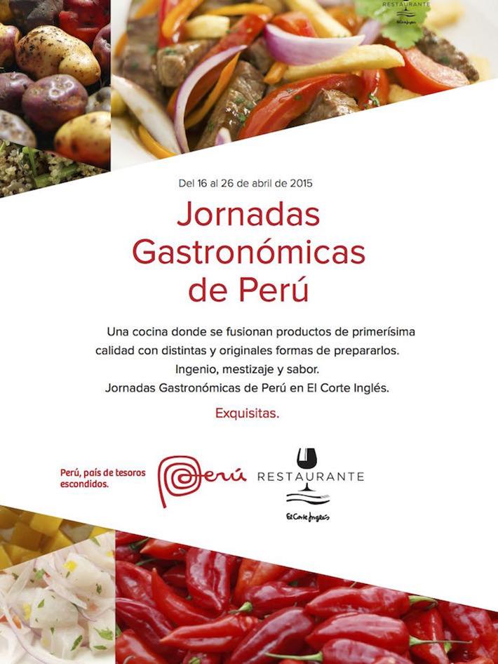 Jornadas gastronómicas Peru
