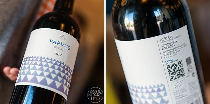 Mama Campo parvus vino ecologico