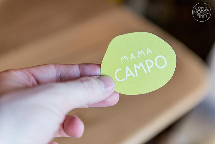 Mama Campo tarjeta