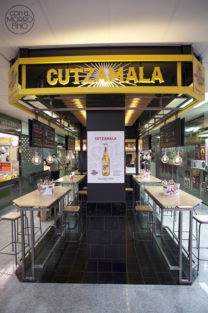 Cutzamala Mercado Antón Martín Madrid Local