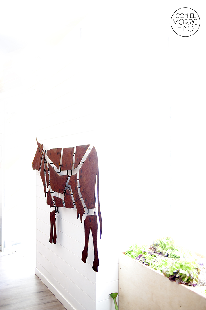 La Vaca y la Huerta Restaurante Interior