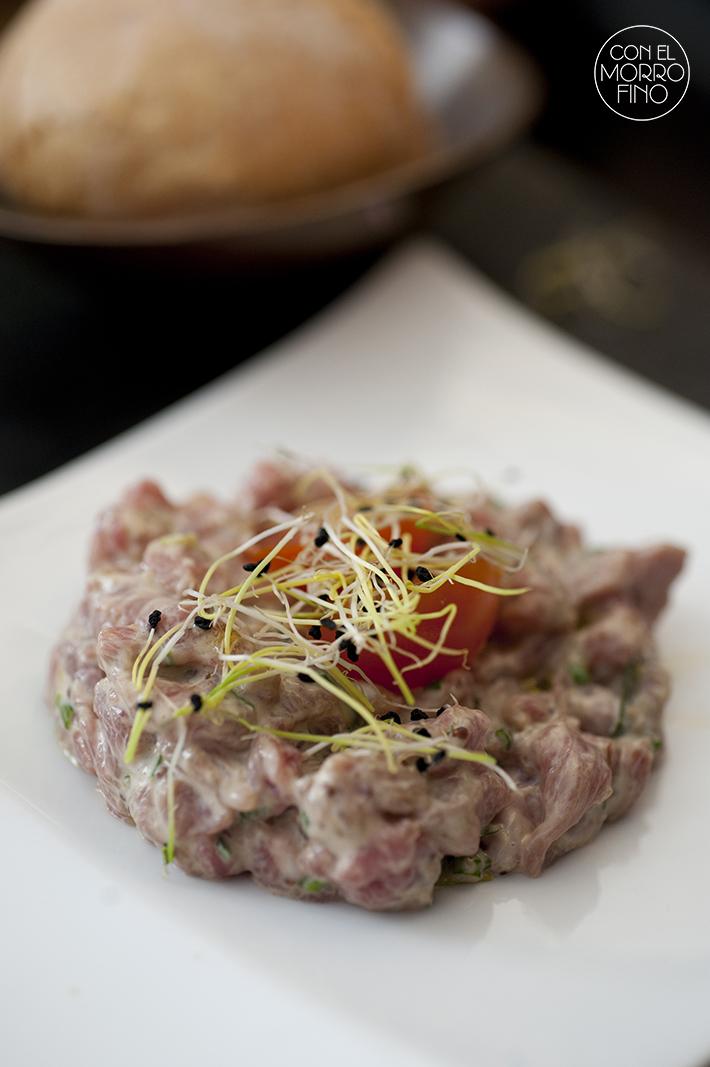 La Vaca y la Huerta Restaurante Steak Tartar