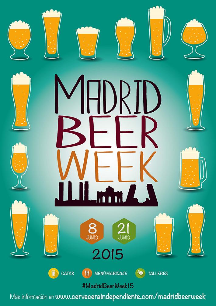 Madrid Beer Week 2015 cartel