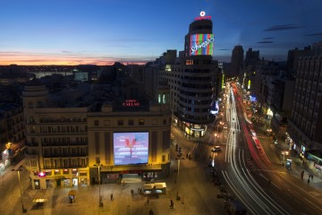Plaza de Callao (Madrid) - Enrique Gómez (vía Flickr)