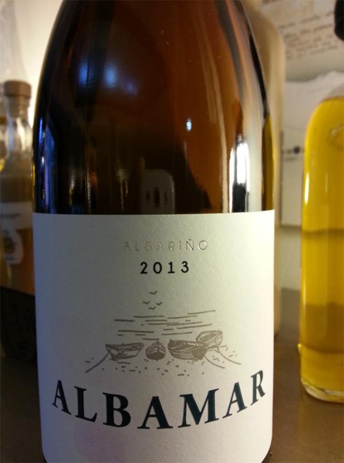 Vino Albamar Albariño 2013 (vía antollosdocesar.com)