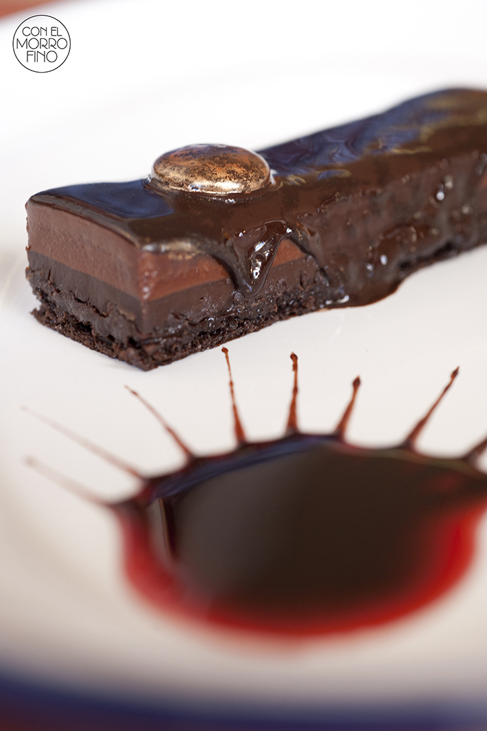 Bocadillo de Jamón y Champán Lingote Chocolate
