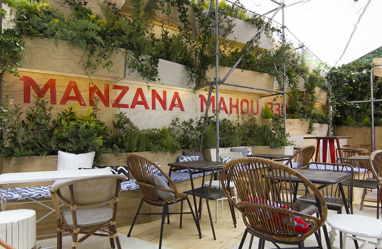 Manzana Mahou 330: Vuelve la terraza del verano en Madrid
