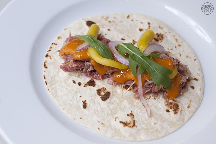 Muñagorri Restaurante Gastro Bar Burrito de pato