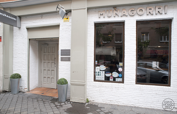 Muñagorri Restaurante Gastro Bar Fachada