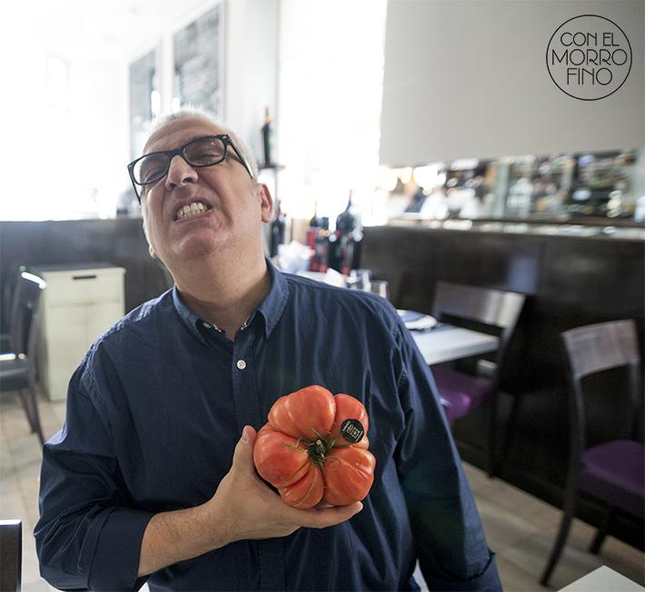 Entrevista Leo Harlem en Arzabal tomate