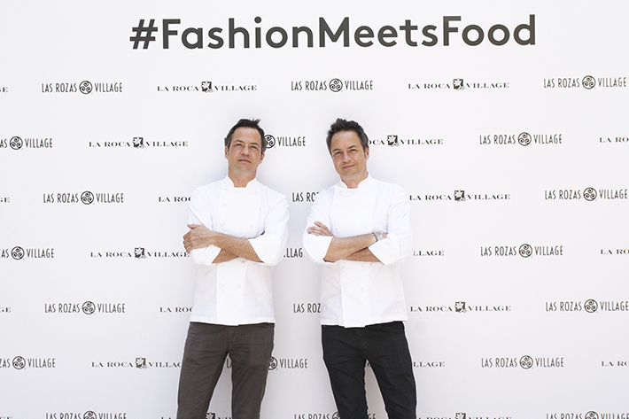 Javier y Sergio Torres FashionMeetsFood LasRozasVillage