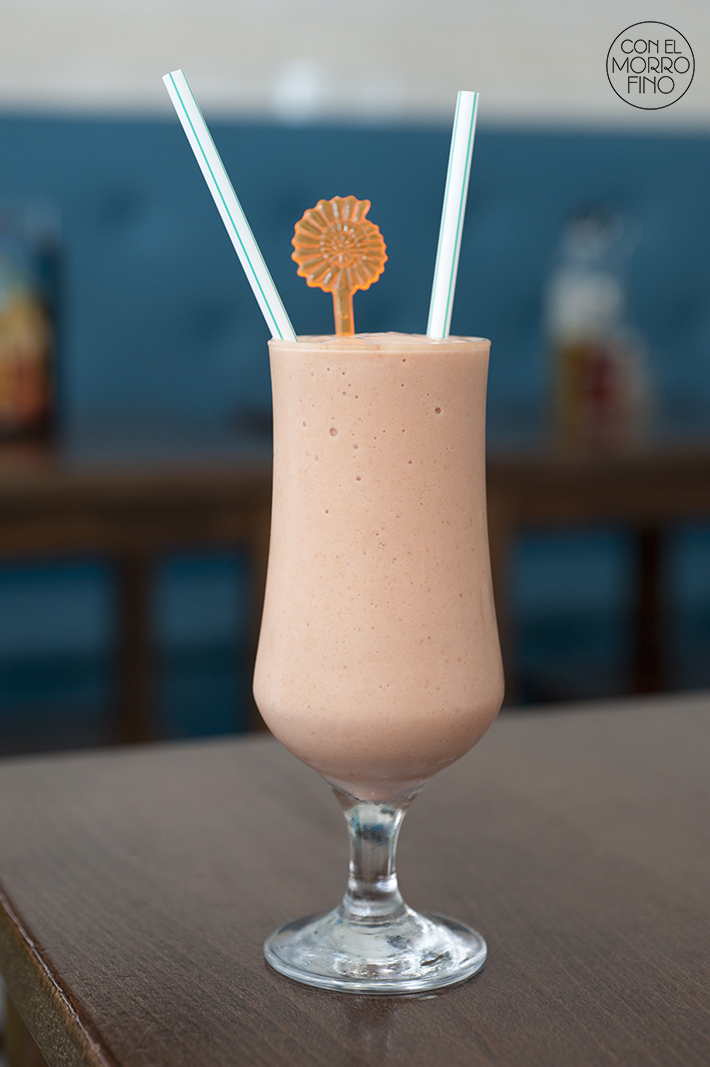Batido de Zapote Havana Blues Madrid