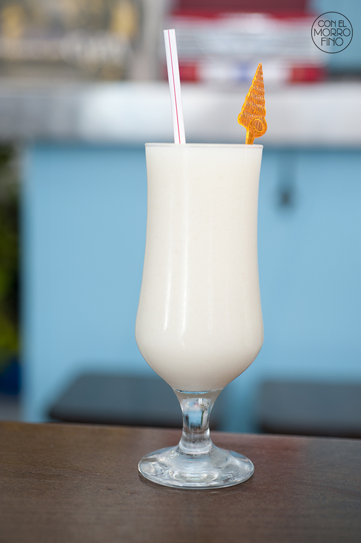Batido de guanaba Havana Blues Madrid