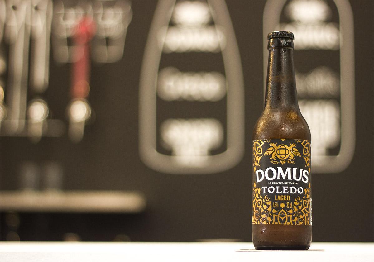 Cerveza Domus, desde Toledo con amor