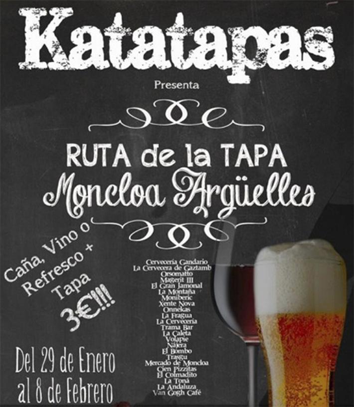 Katatapas Moncloa Arguelles