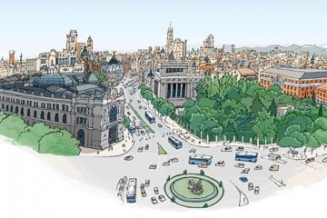 MADRID desde Cibeles - Jorge Arranz