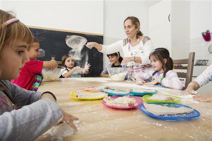 La Cocinita de Mama Campo niños cocinando