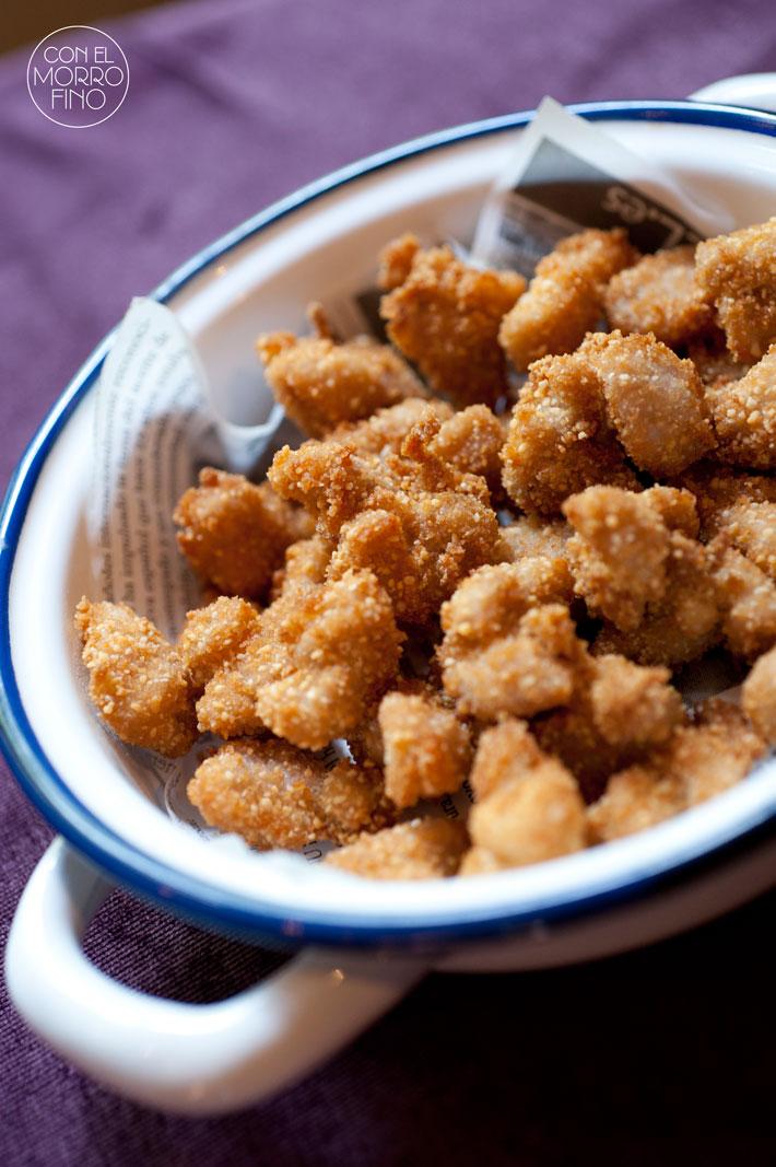 Restaurante Lua Nuggets de mollejas de cordero