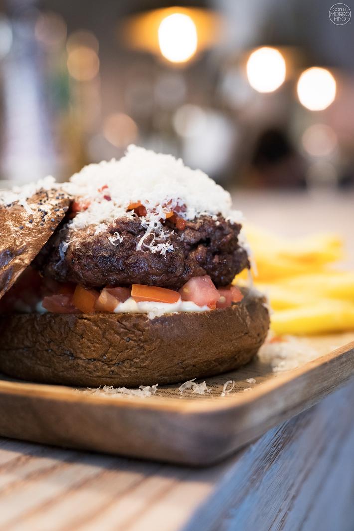 las mejores hamburguesas de madrid La Txuleta Buey Bistro
