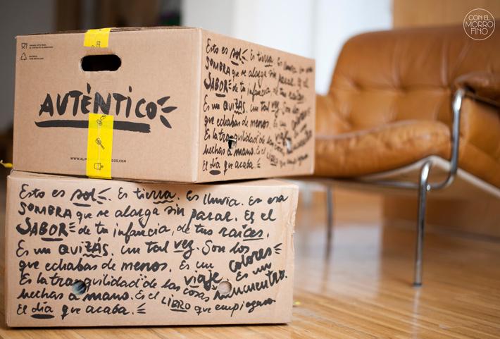 Alimentos Auténticos Cajas Packaging