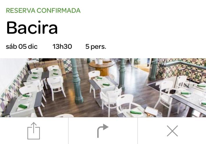 El Tenedor Reserva App