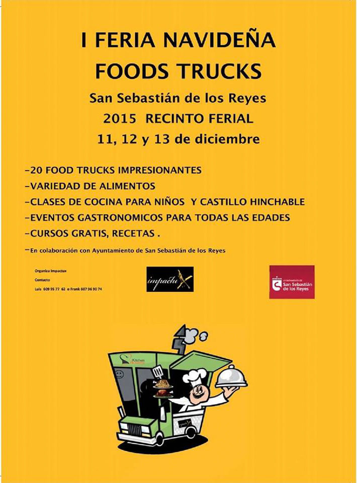 Feria Navideña Food Trucks