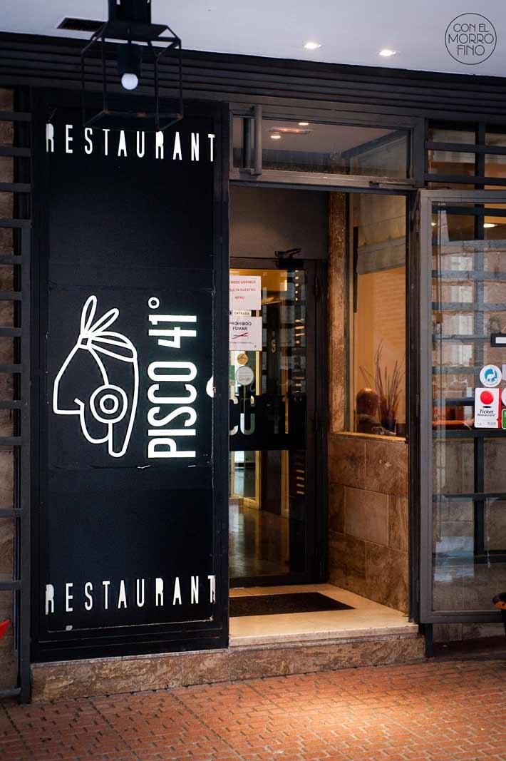 Pisco41 Restaurante Peruano Madrid Fachada