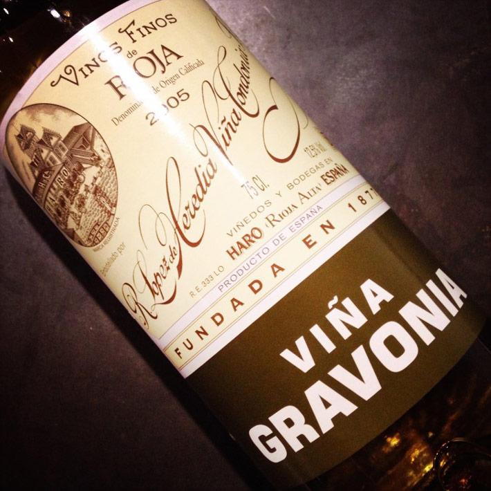 Viña Gravonia 2005