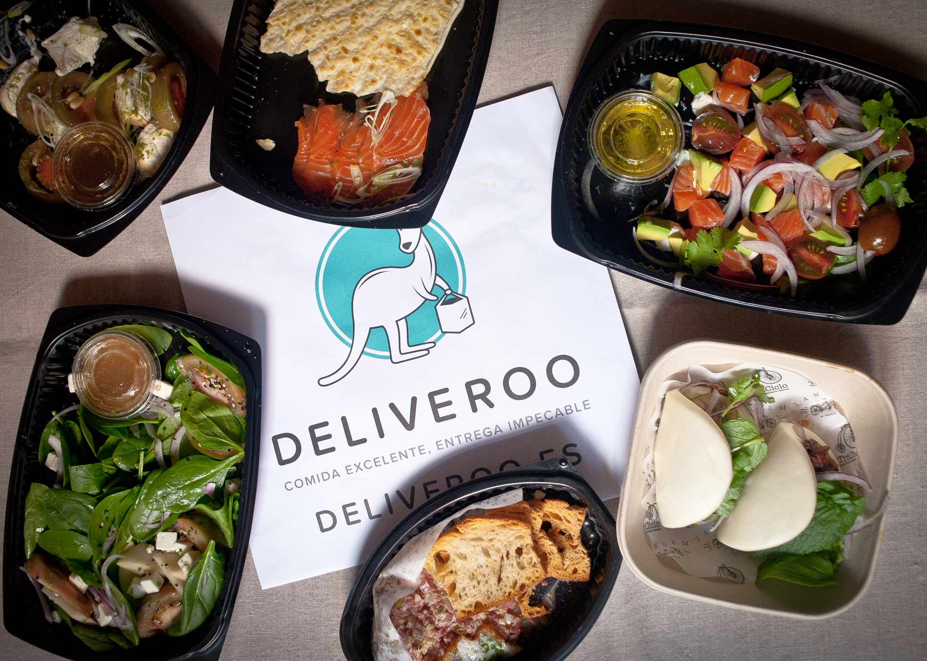 Deliveroo, tus restaurantes favoritos sin salir de casa
